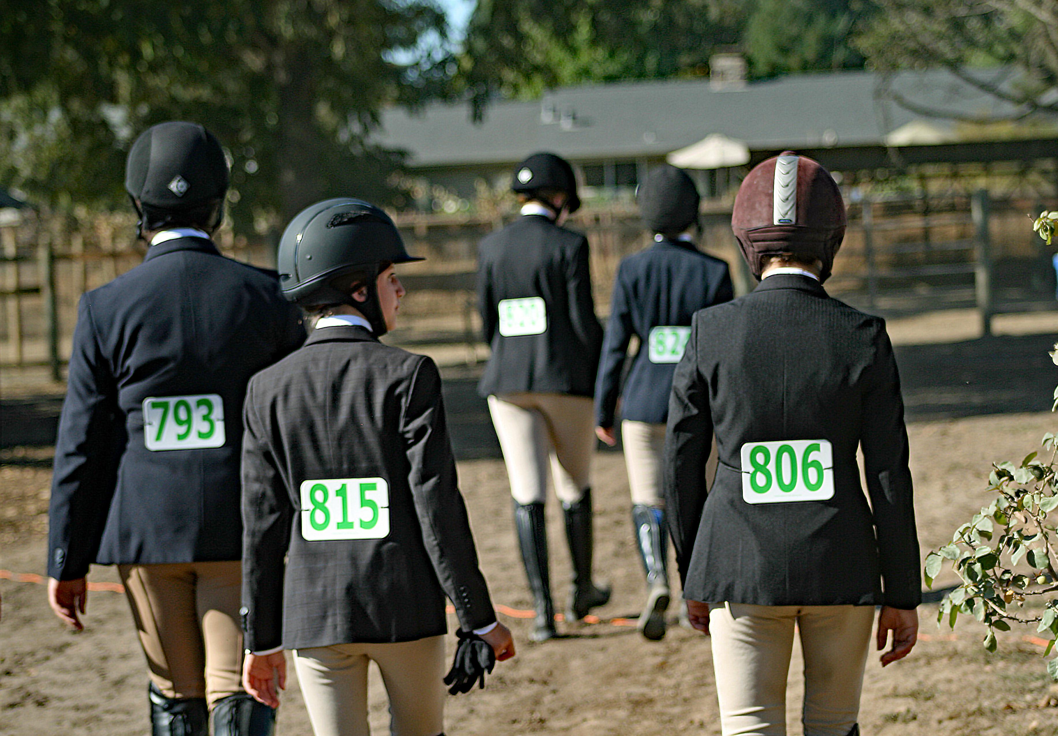 Horse show girls